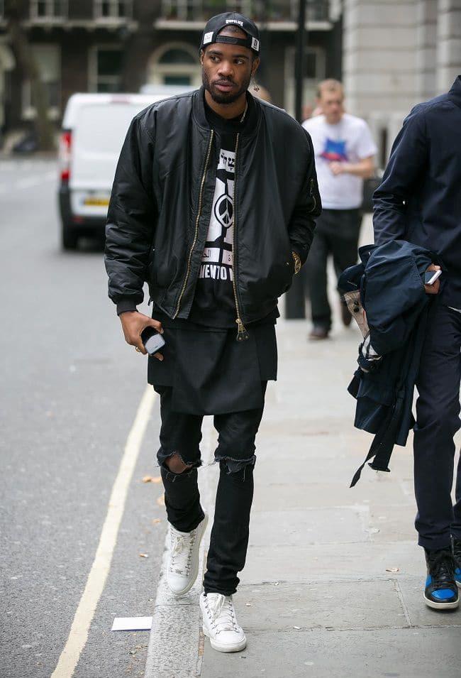 Street Style Masculino com Jaqueta Bomber Homens que se cuidam 7