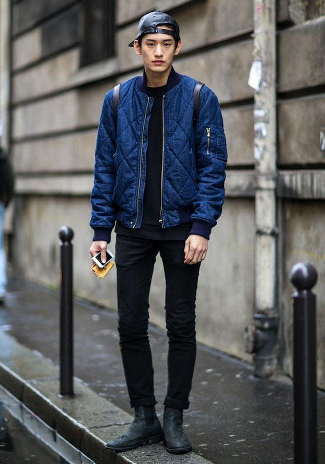 Street Style Masculino com Jaqueta Bomber Homens que se cuidam 8