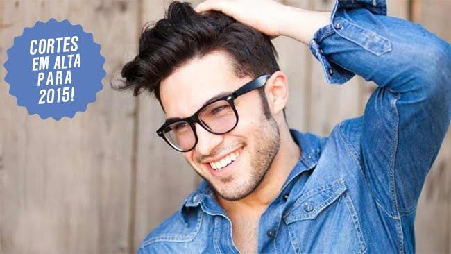 Cortes de cabelo masculino em alta Homens que se cuidam 1 2 2