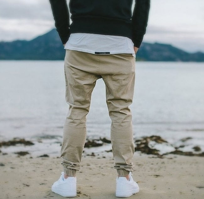 Street Style com Jogger Masculina Homens que se cuidam 4