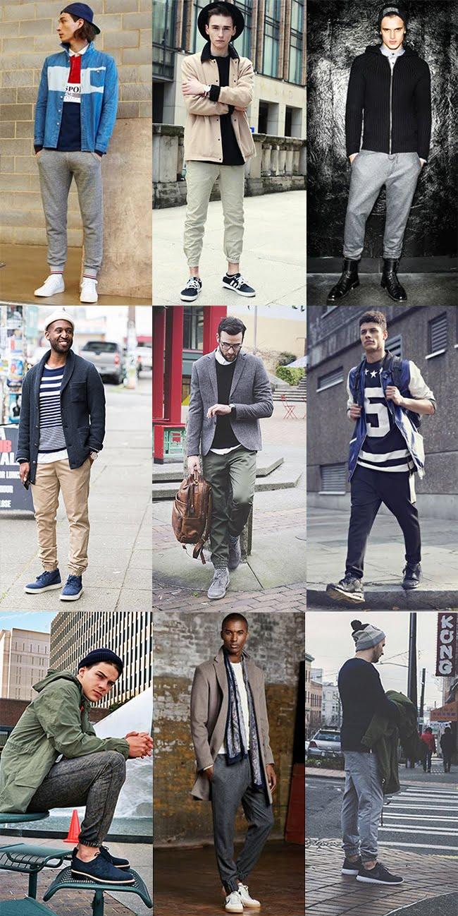 Street Style com Jogger Masculina Homens que se cuidam 7