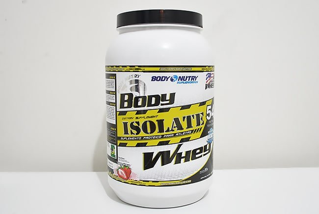 Whey Protein Isolate da Body Nutry Homens que se cuidam 1