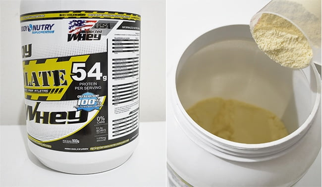 Whey Protein Isolate da Body Nutry Homens que se cuidam 2 2