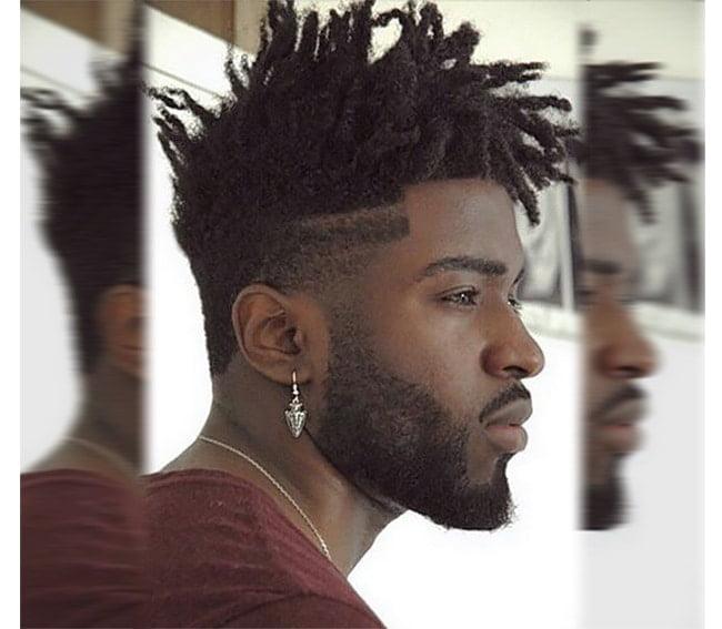 cortes de cabelo masculino afros Homens que se cuidam 0