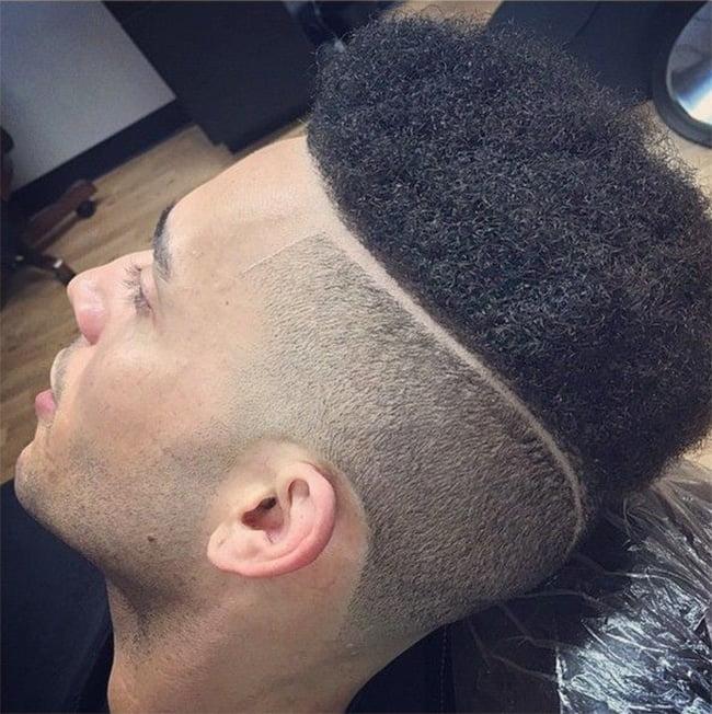cortes de cabelo masculino afros Homens que se cuidam 4