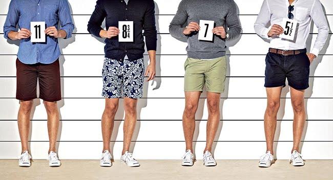 0 - Looks masculinos com bermuda homens que se cuidam basicão