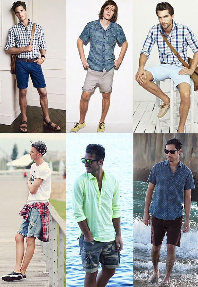 2 - Looks masculinos com bermuda homens que se cuidam Camisa