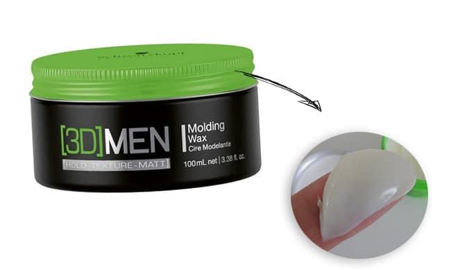 3Dmension Molding Wax Homens que se cuidam 2