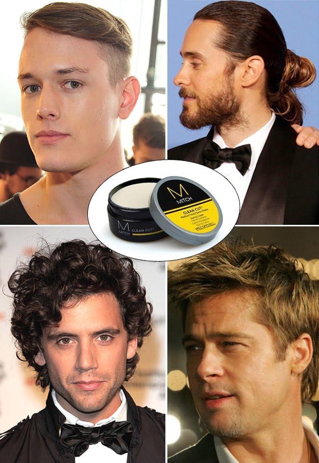 Modeladores para cabelo Mitch Clean Cut Homens que se cuidam 1