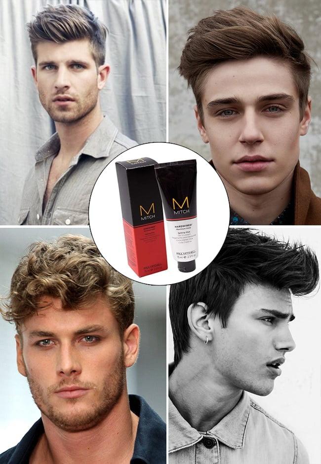 Modeladores para cabelo Mitch Paste Hardwired Homens que se cuidam 3 3