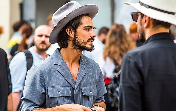 Street Style Direto da Semana de Moda Masculina de Milão Primavera-Verão 2016 1
