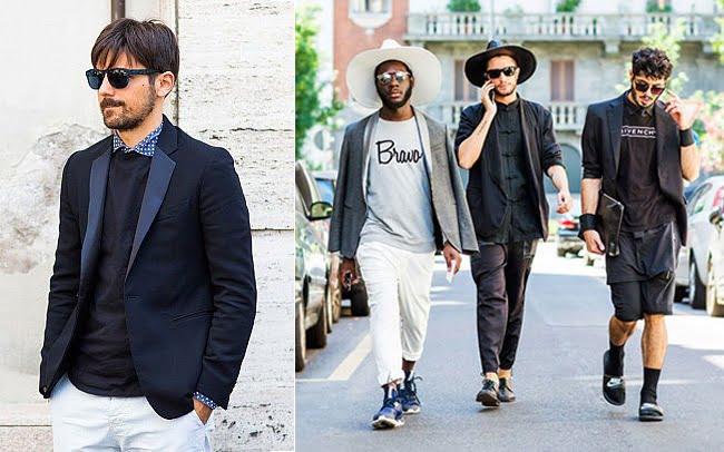 Street Style Direto da Semana de Moda Masculina de Milão Primavera-Verão 2016 2 2