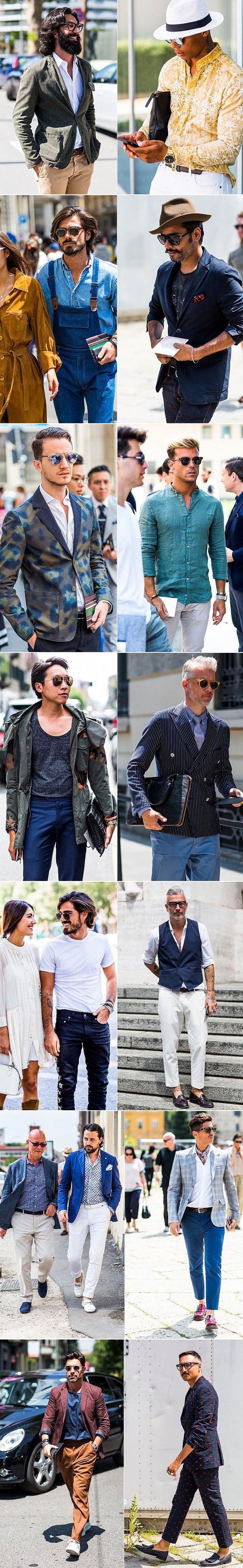 Street Style Direto da Semana de Moda Masculina de Milão Primavera-Verão 2016 4