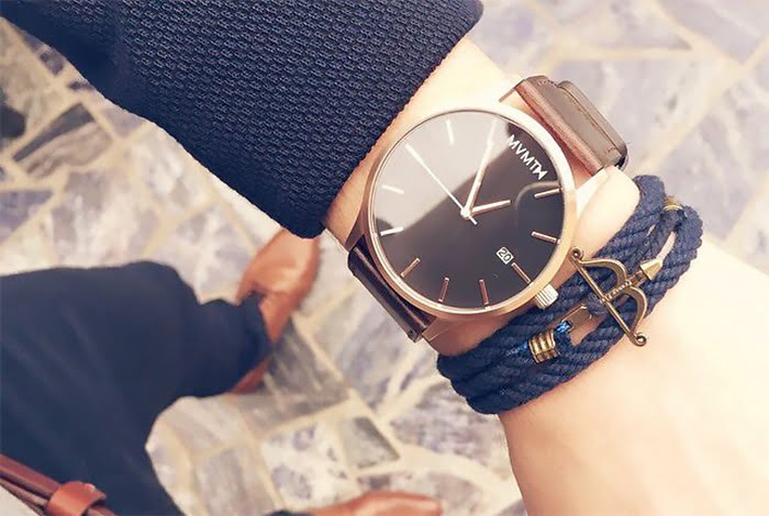 A versatilidade dos relógios de couro Homens que se cuidam 1