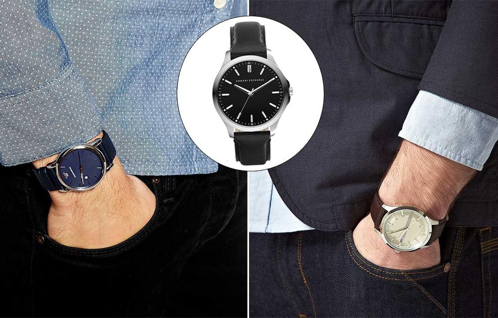 A versatilidade dos relógios de couro Homens que se cuidam 2