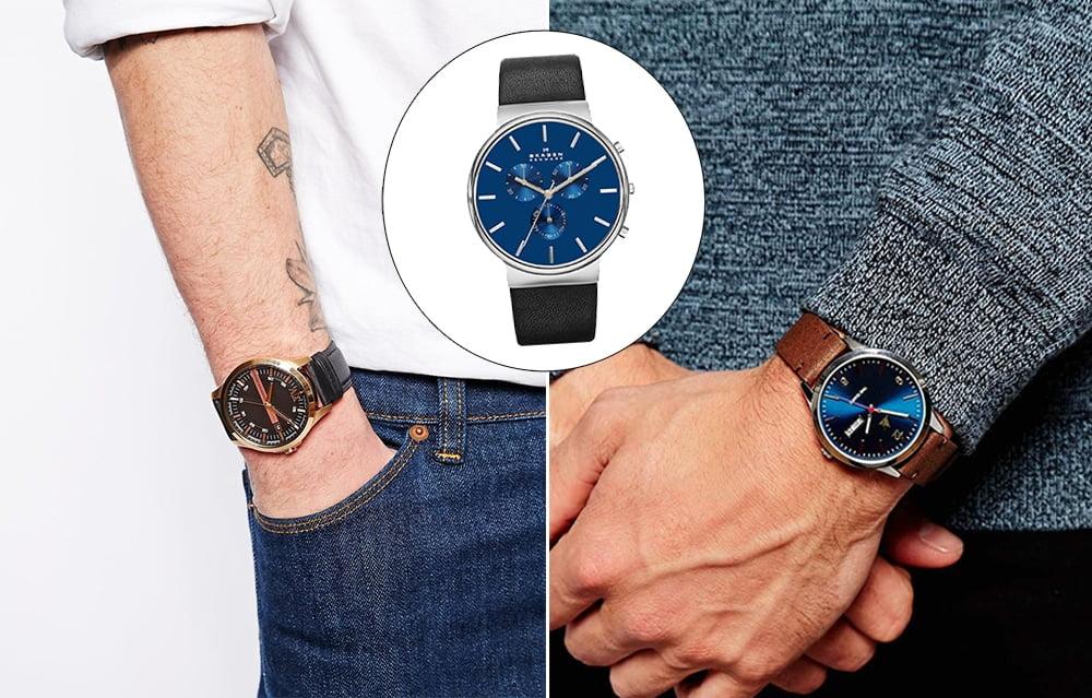 A versatilidade dos relógios de couro Homens que se cuidam 3
