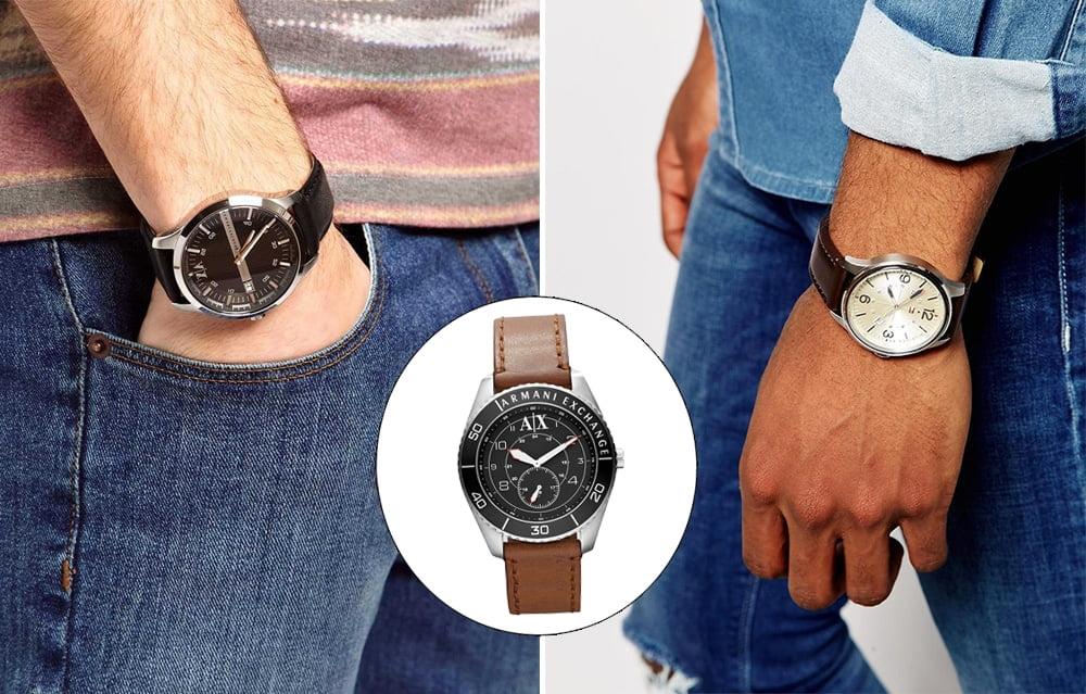A versatilidade dos relógios de couro Homens que se cuidam 4