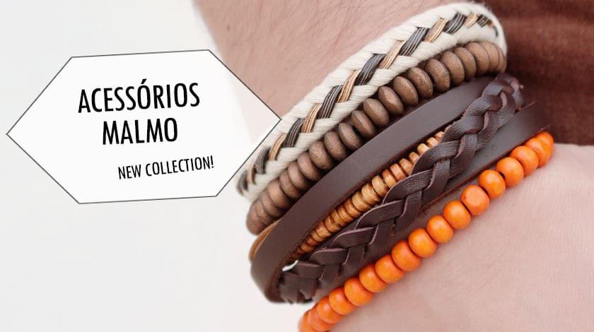 Nova coleção pulseiras Malmo Homens que se cuidam 0