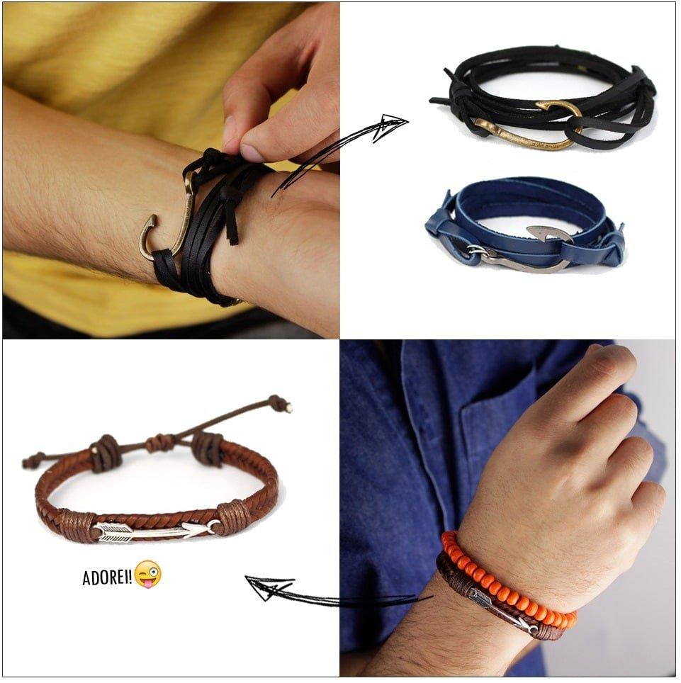 Nova coleção pulseiras Malmo Homens que se cuidam 2 2 2