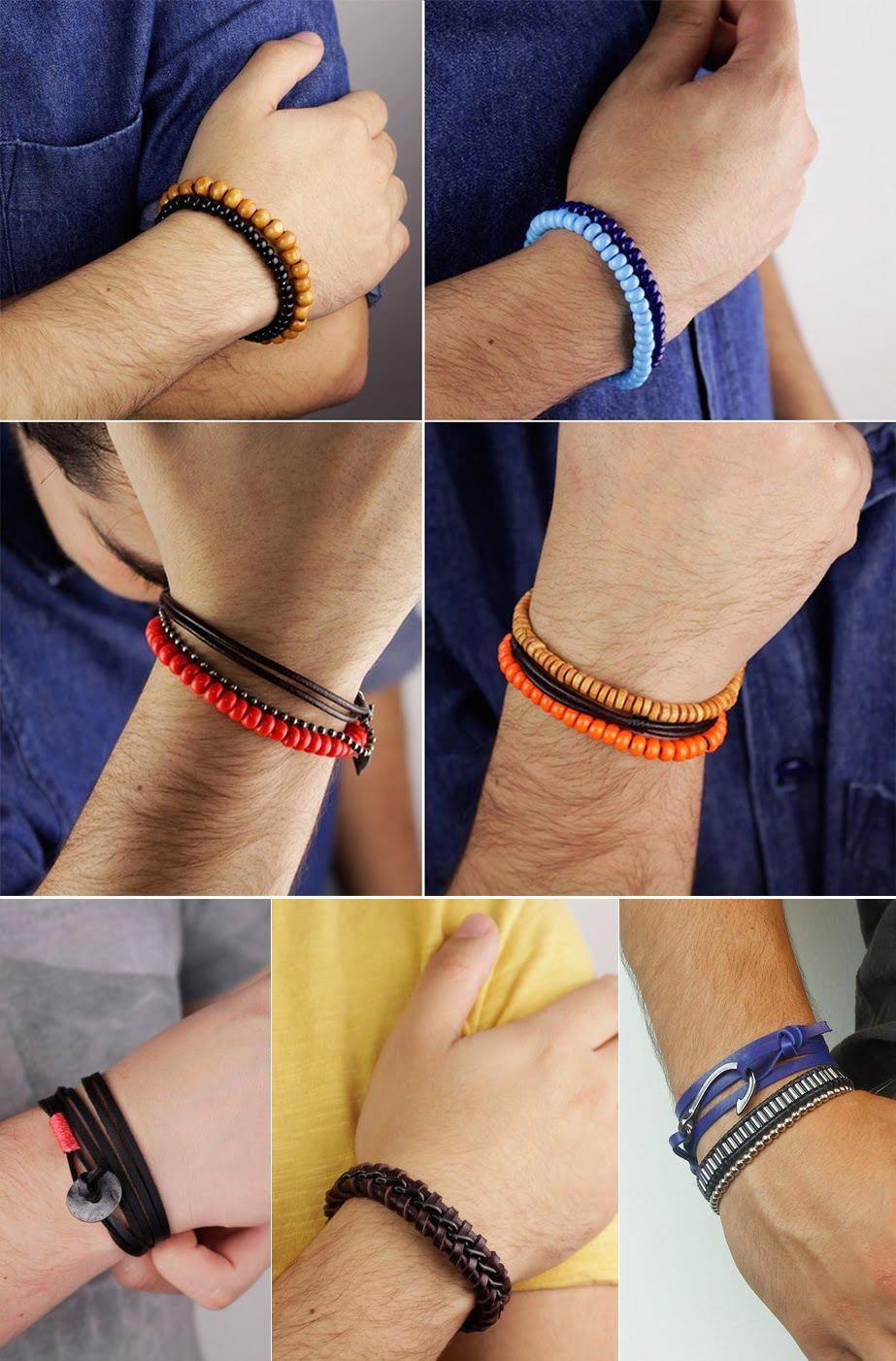 Nova coleção pulseiras Malmo Homens que se cuidam 45