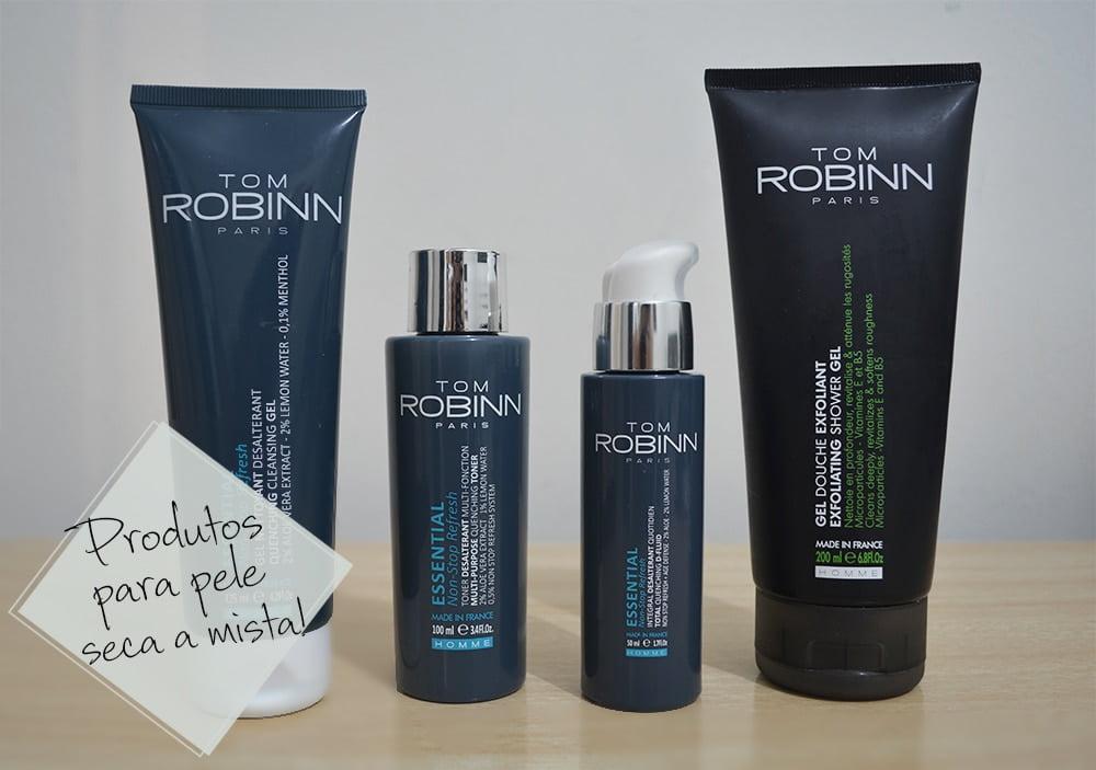 Produtos Essential Tom Robinn Homens que se cuidam 1 2 2 2