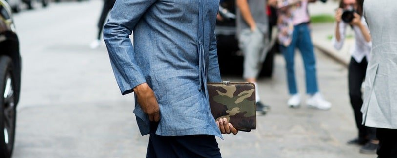 Street Style da semana de moda de NY - New York Men's Fashion Week Homens que se cuidam 1