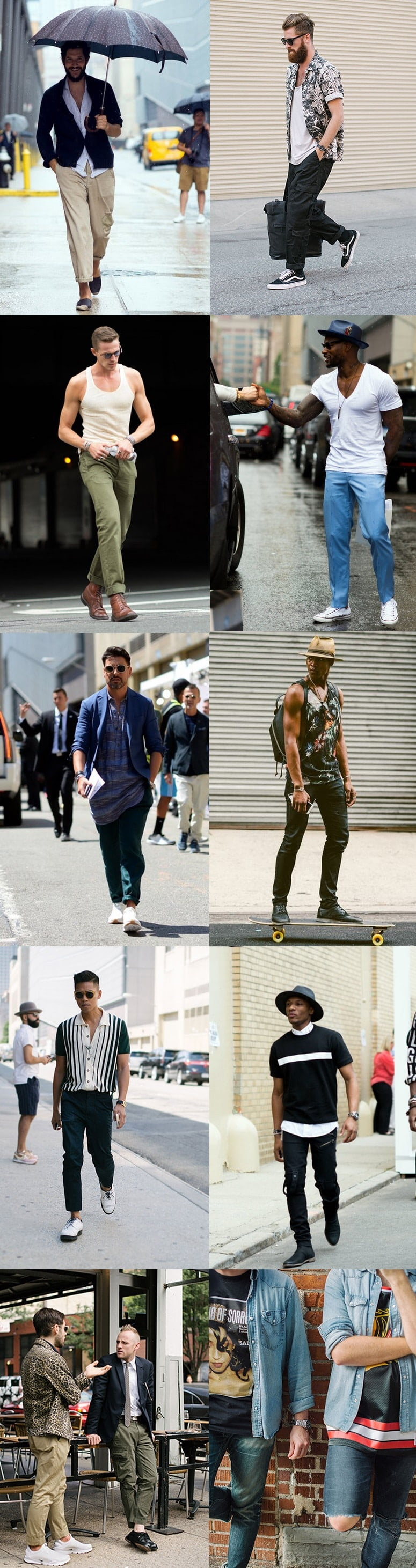 Street Style da semana de moda de NY - New York Men's Fashion Week Homens que se cuidam 3