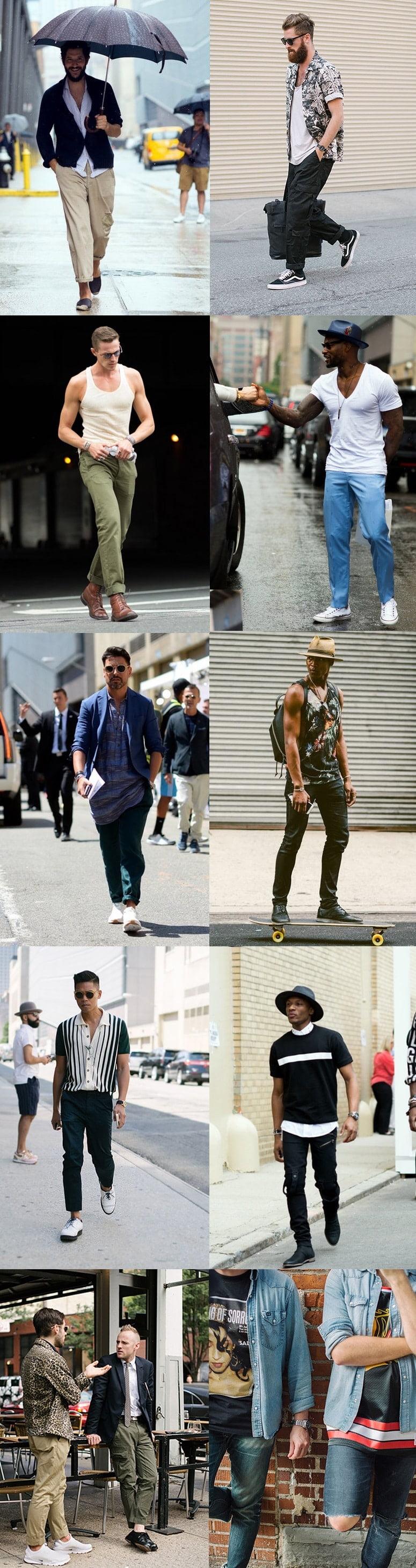 Street Style da semana de moda de NY - New York Men's Fashion Week Homens que se cuidam 3