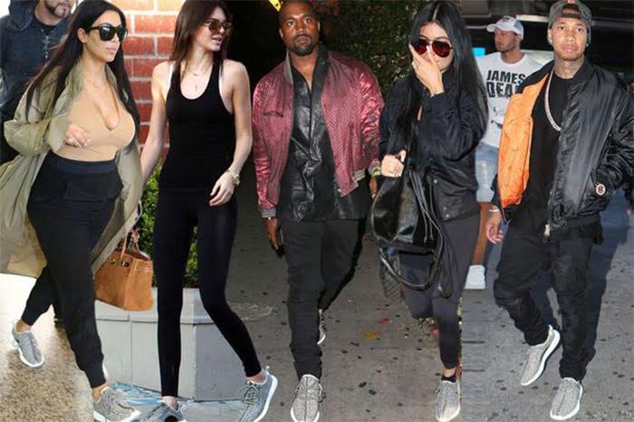 Tênis do Kanye West em Parceria com a Adidas Chega ao Brasil Família Kardashian e Jenner Homens que se cuidam 4
