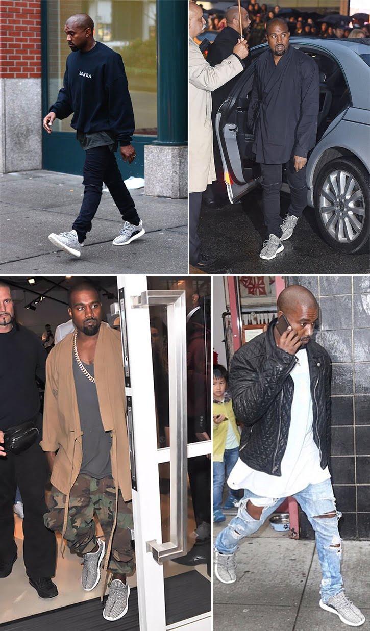 Tênis do Kanye West em Parceria com a Adidas Chega ao Brasil Homens que se cuidam 3