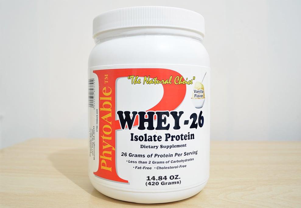 Whey-26 da PhytoAble Homens que se cuidam 1