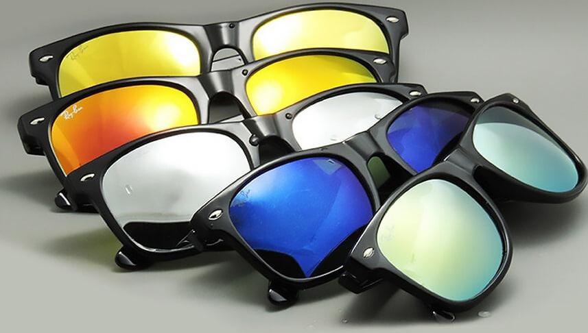 905de5d13 Os Decolados Óculos de Sol Espelhados - Homens que se Cuidam