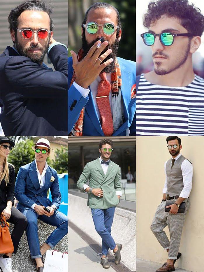 óculos espelhados masculinos homens que se cuidam 10