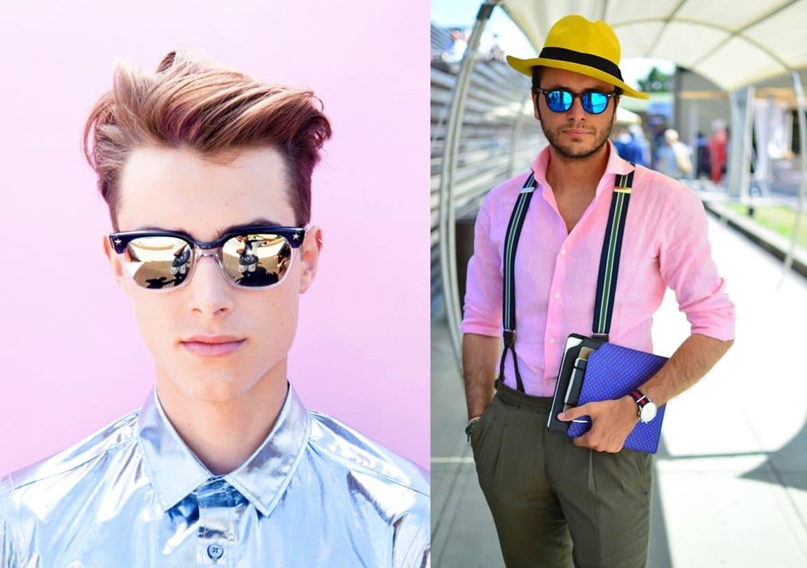 óculos espelhados masculinos homens que se cuidam 9