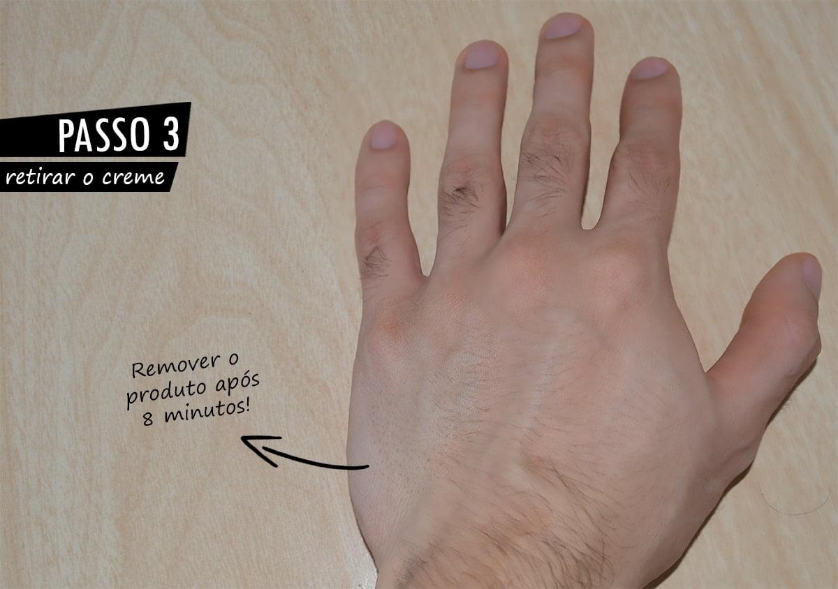Como usar creme depilatório passo a passo 3