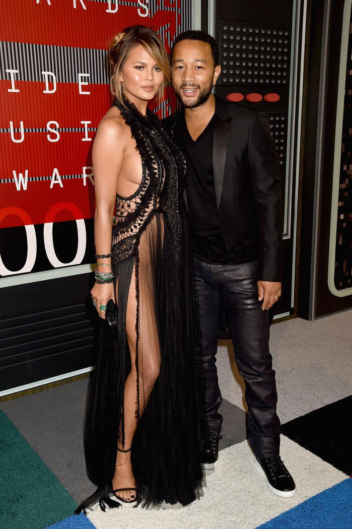 Looks Masculinos do VMA Homens que se cuidam John-legend