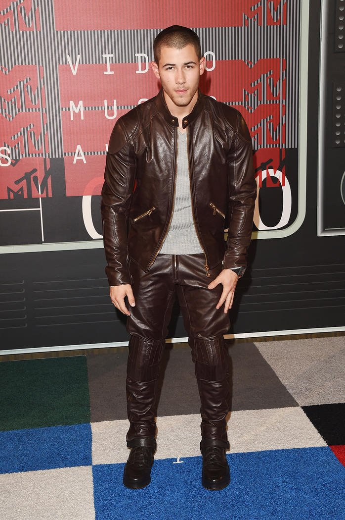 Looks Masculinos do VMA Homens que se cuidam Nick Jonas