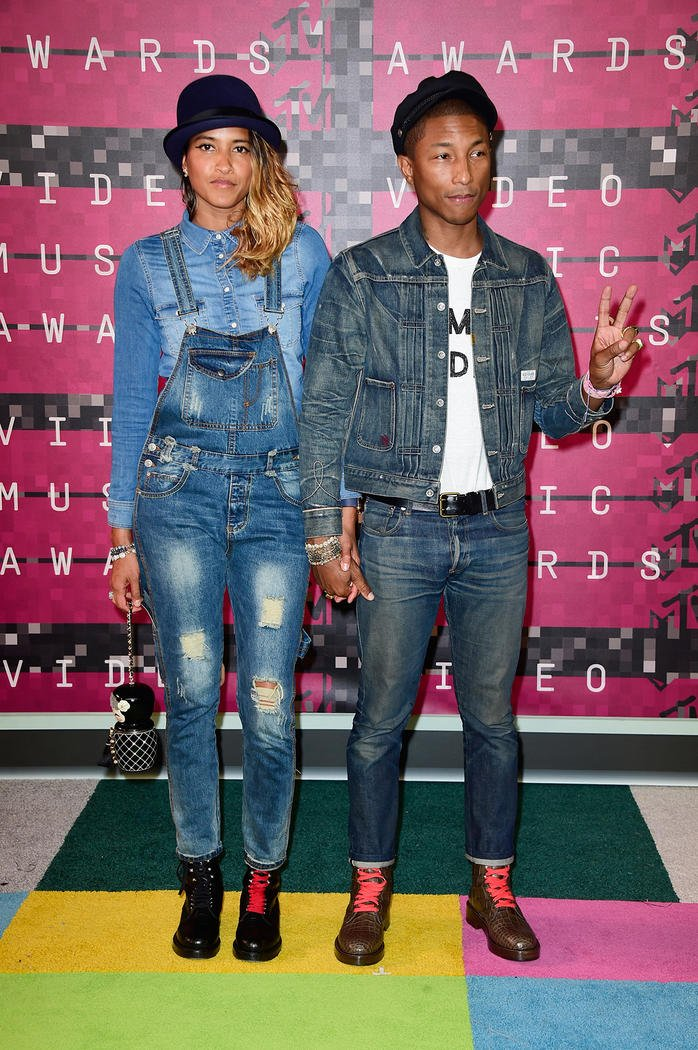 Looks Masculinos do VMA Homens que se cuidam Pharrell William