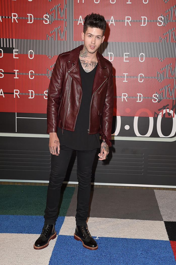 Looks Masculinos do VMA Homens que se cuidam Travis mills