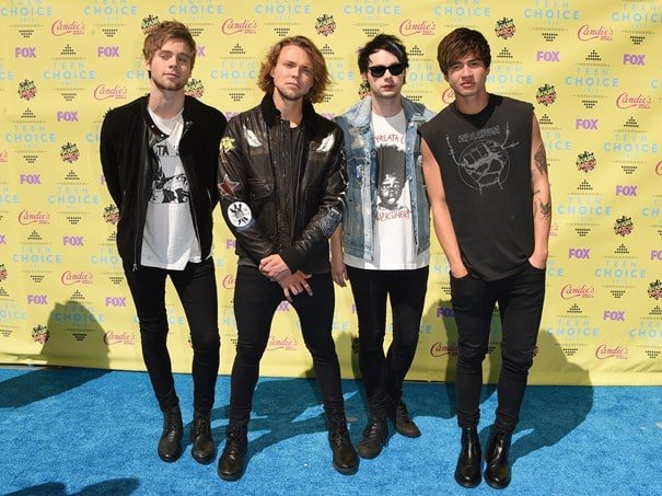 Teen Choice Awards Homens que se cuidam 5 Seconds Of Summer