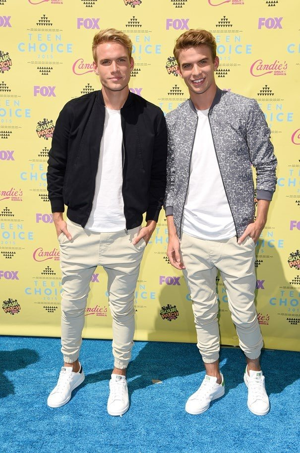 Teen Choice Awards Homens que se cuidam Austin And Aaron Rhodes