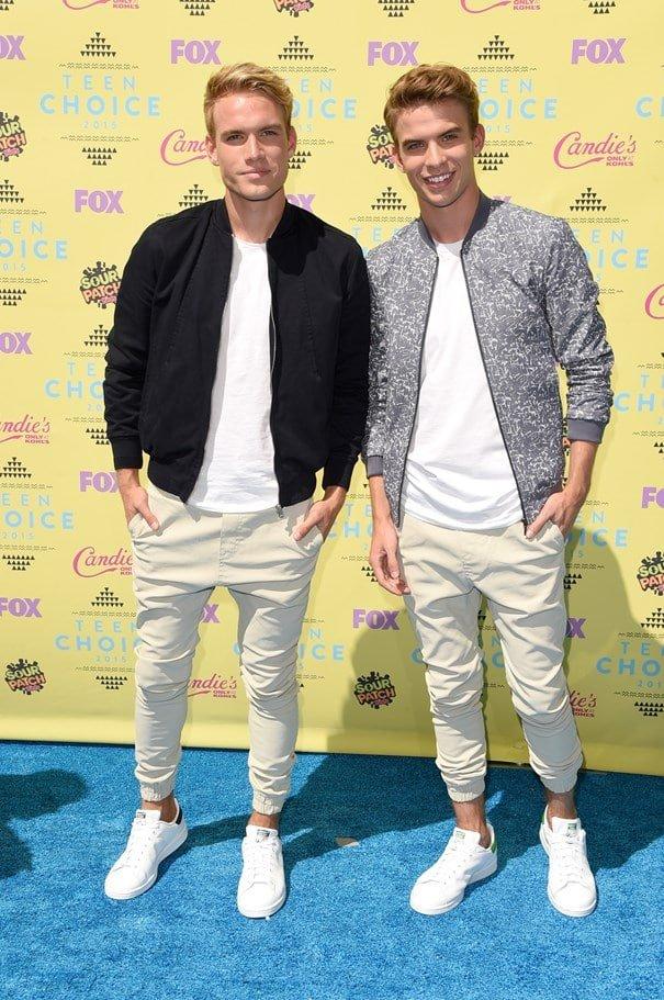 Teen Choice Awards Homens que se cuidam Austin And Aaron Rhodes