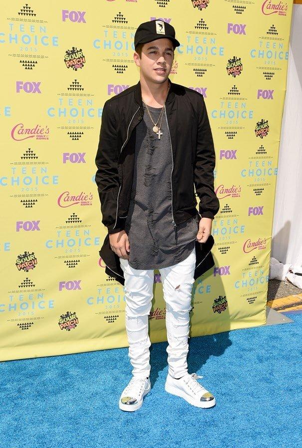 Teen Choice Awards Homens que se cuidam Austin Mahone