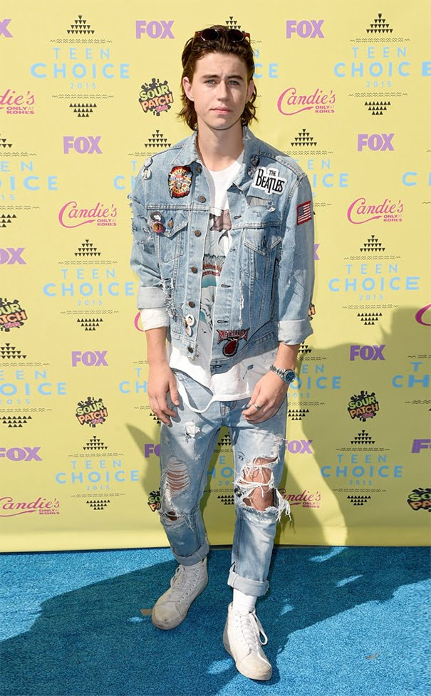 Teen Choice Awards Homens que se cuidam NASH GRIER
