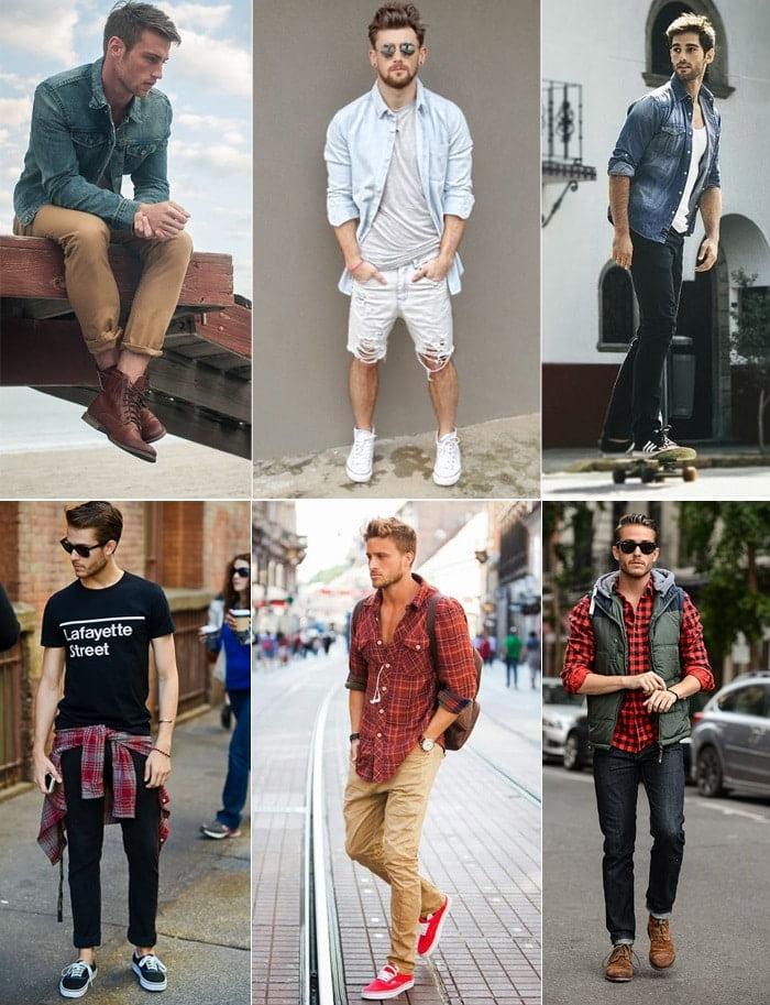1 O que vestir para Rock in Rio Urban Jeans ou Xadrez Homens que se cuidam 1
