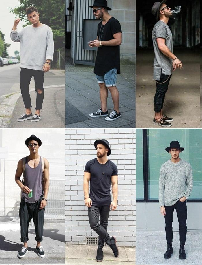 2 O que vestir para Rock in Rio Oversized e Fedora Homens que se cuidam 2
