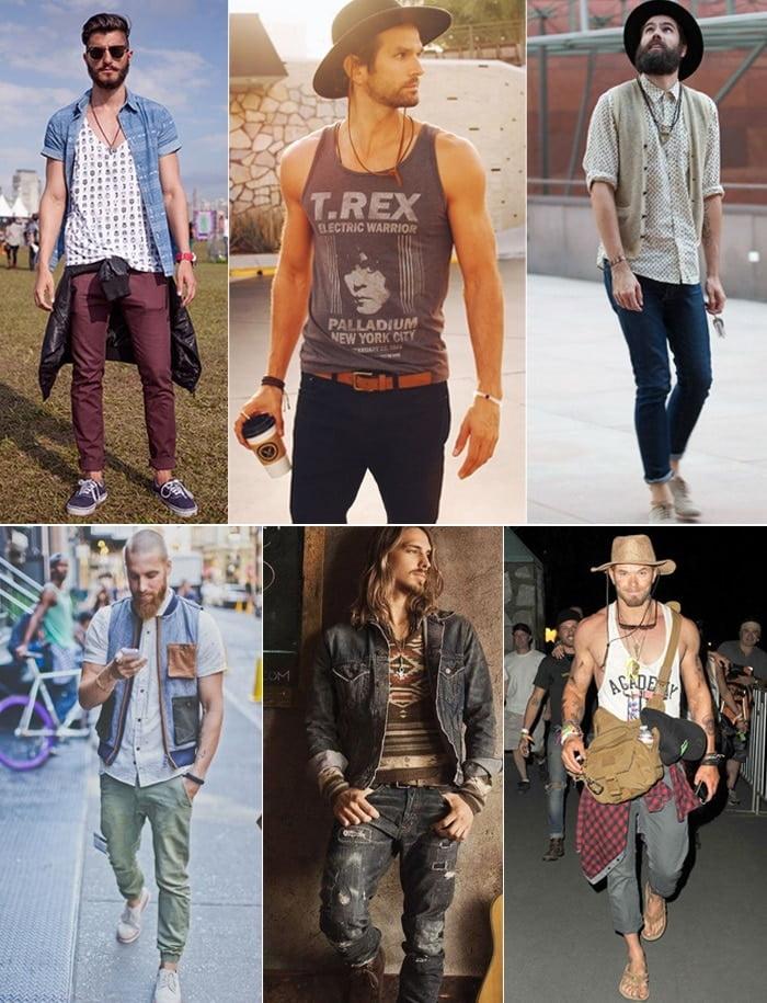 3 O que vestir para Rock in Rio Boho Homens que se cuidam 3