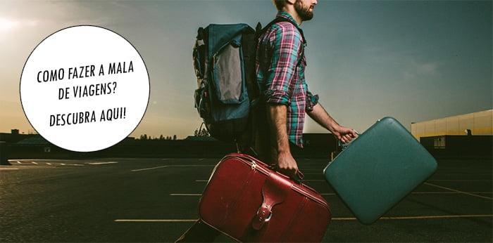 Como organizar a mala de viagem masculina homens que se cuidam 1
