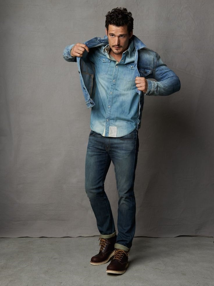 Looks All Jeans Homens que se cuidam 14