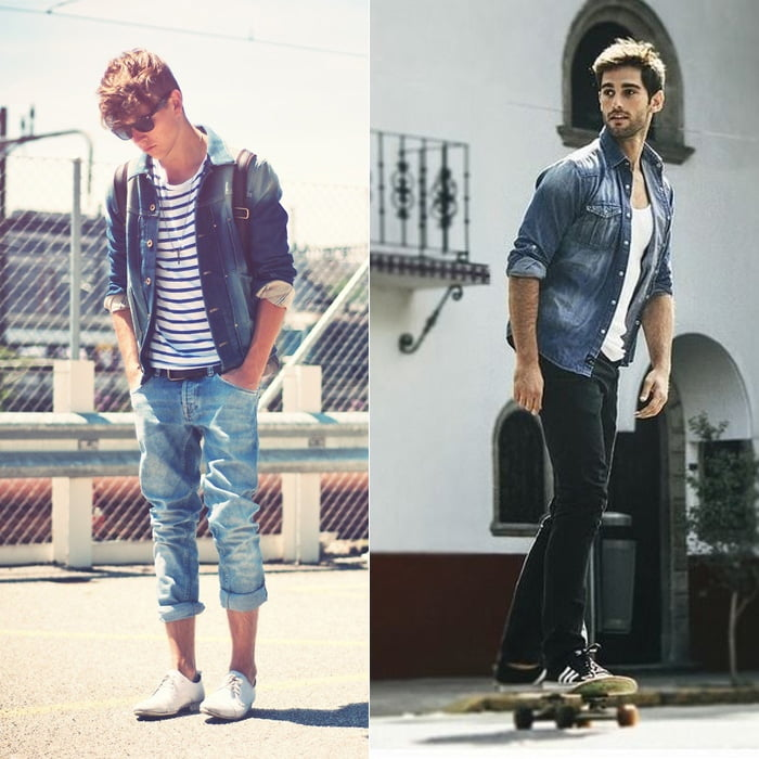 Looks All Jeans Homens que se cuidam 7 1